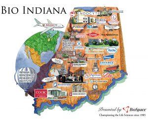 BioIndiana Hotbed Map