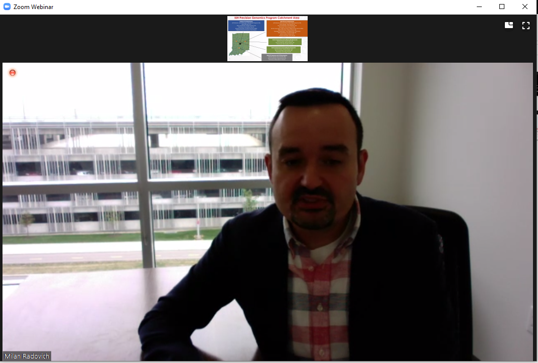 Milan Radovich's presentation