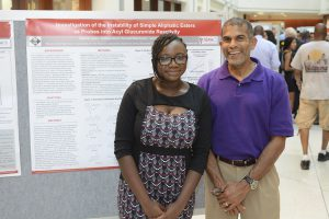Aishat and her 2015 mentor, Dr. Anthony Borel from Lilly
