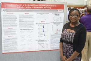 Aishat at 2015 Project SEED poster session