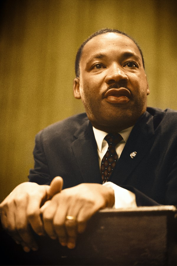 portrait of Martin Luther King Jr