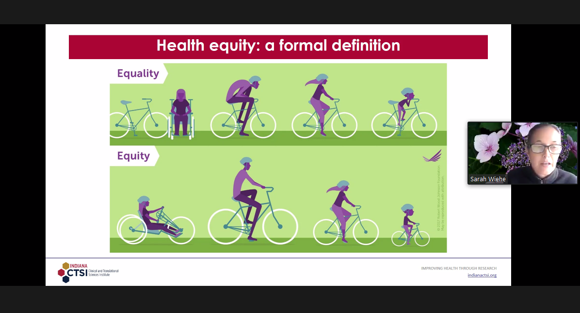 Dr. Sarah Wiehe, MD, MPH, explains health equality and health equity