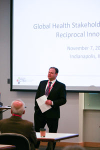 speaker at reciprocal innovation meeting