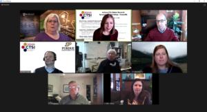 Indiana CTSI Symposium Evansville lunch navigator roundtable