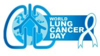 world lung cancer day logo