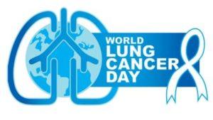 world lung cancer day logo