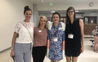 Healthy schools action committee members at the 2019 Whole Child conference