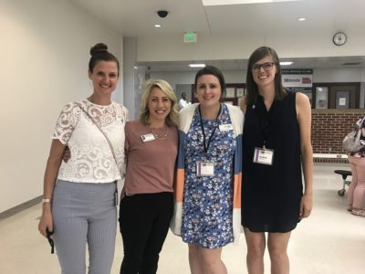 Healthy schools action team members at the 2019 Whole Child conference