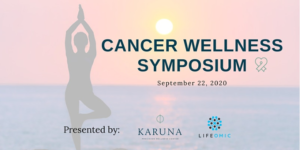 Cancer wellness symposium graphic