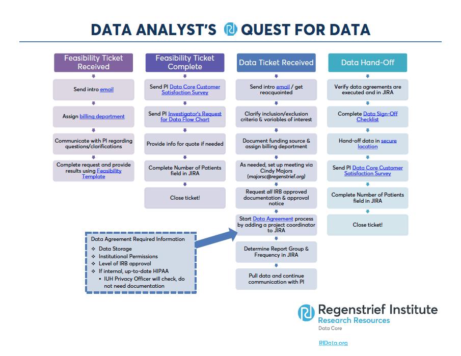 data analyst request