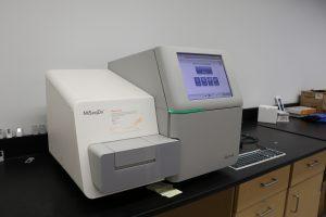Equipment in Medical Genomics lab