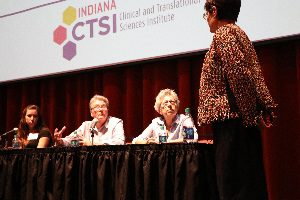 Panel discussion at Indiana CTSI Annual Meeting