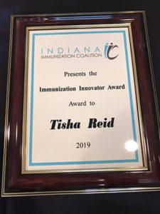 tisha's award